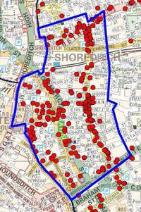 Proposed Brick Lane Area Saturation Zone