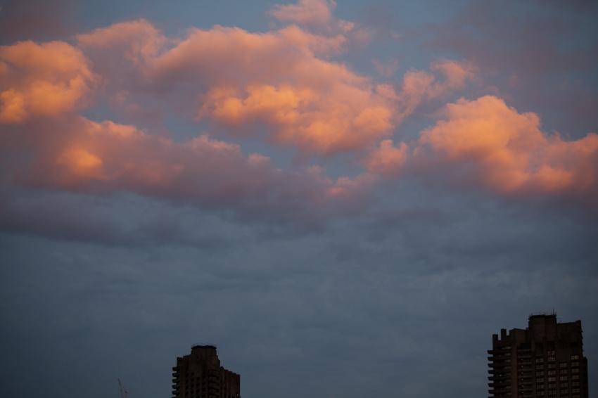London Sunset Jun 17, 2013