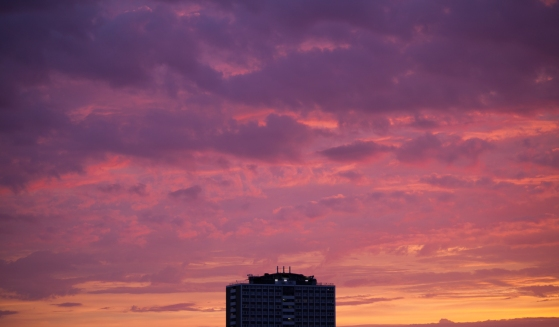London Sunset Jun 17, 2013